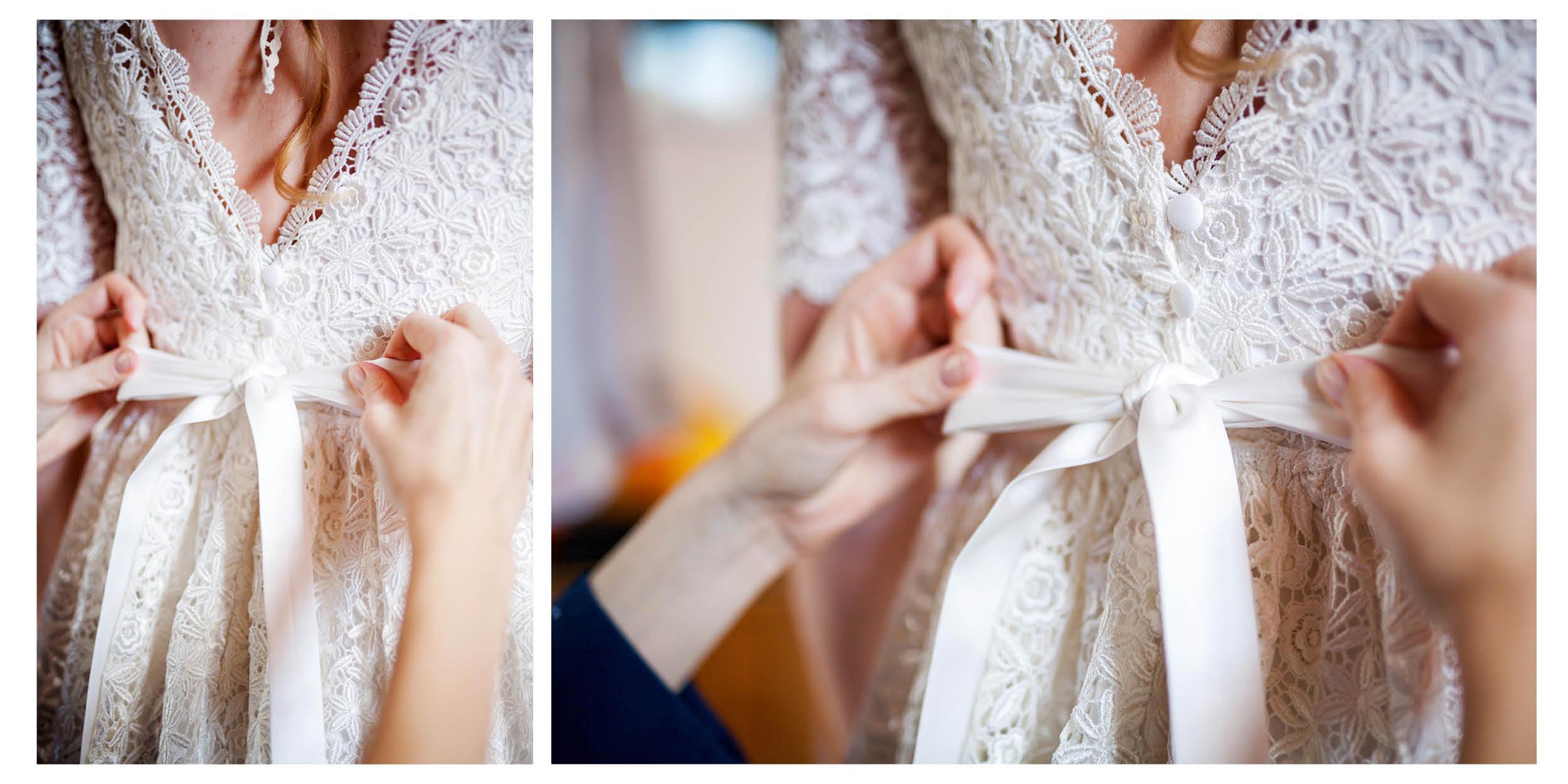 My Wedding Pictures Hochzeitsfotos Und Videos Anziehen Der Braut