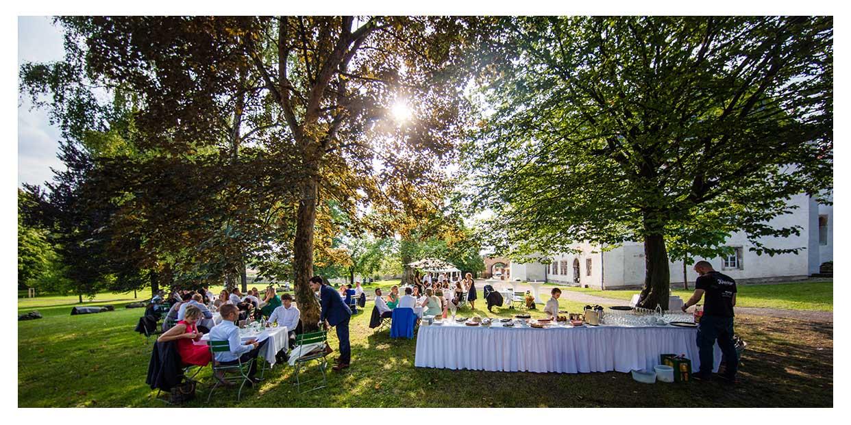 Sommerhochzeit auf Schloss Kromsdorf